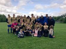 Lache FC 2014 2015 Premier Division Champions