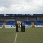 Officials pre match inspection